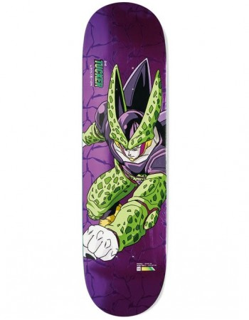 "Skateboard Primitive Dragon Ball Z Tucker Perfect Cell  8.25"" (solo tabla)"
