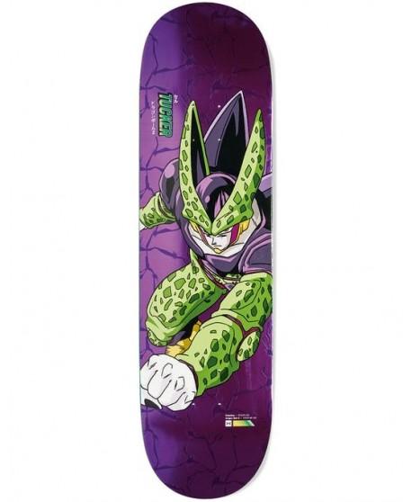 """Skateboard Primitive Dragon Ball Z Tucker Perfect Cell  8.25"""" (solo tabla)"""