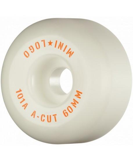 """Ruedas Skateboard Mini Logo A-cut """"2"""" 60mm 101a (set 4)"""