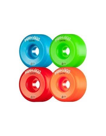 Ruedas Skateboard Mini Logo a-cut 54mm 101A Assorted 4pk (set 4)