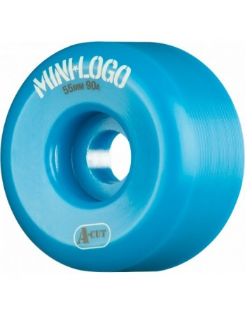 Ruedas Skateboard Mini Logo A-cut 55mm 90a Hybrid (set 4) Azul