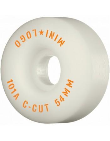 """Ruedas Skateboard Mini Logo C-cut """"2"""" 54mm 101A White 4pk ( set 4 )"""