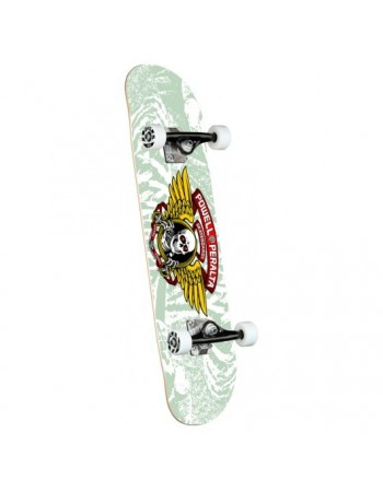"Skateboard Powell Peralta Winged Ripper White 8"" (Completo)"