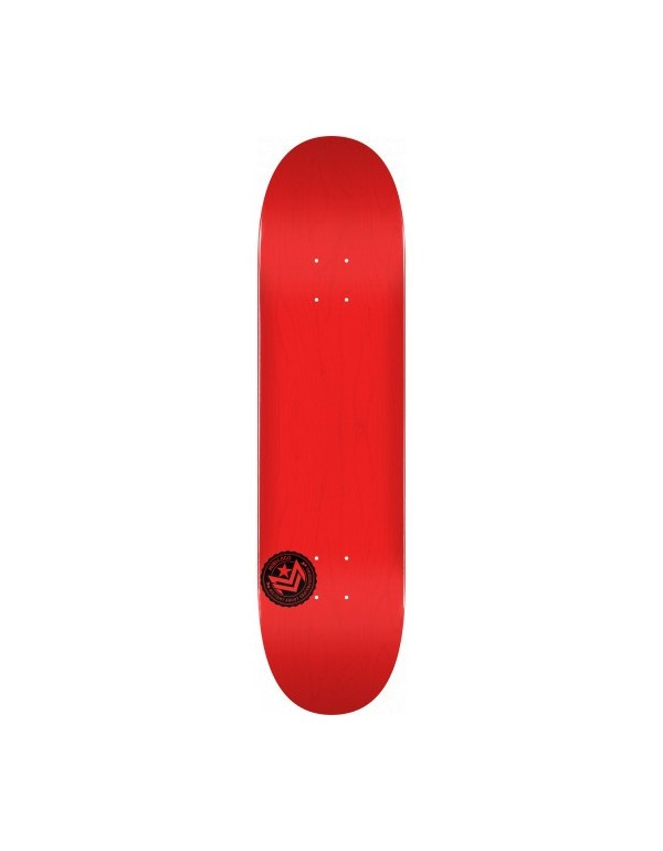 "Skateboard MiniLogo Chevron Stamp 2 ""13"" Roja 8"" (solo tabla)"