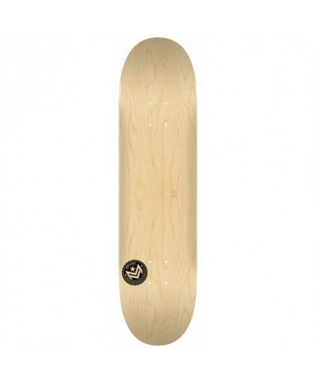 "Skateboard MiniLogo Chevron Stamp 2 ""13"" Natural 8.5""(solo tabla)"