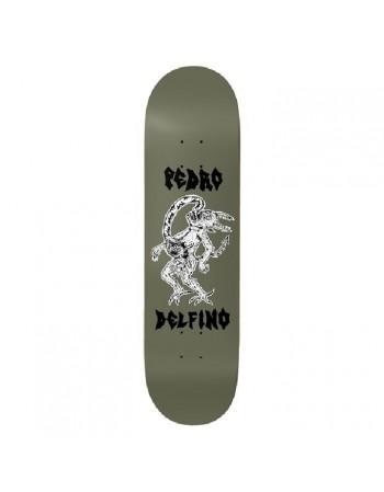 Deathwish Skateboards Pedro Delfino Cannibal Satan 8.25 (Solo tabla)