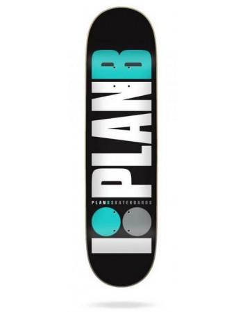 "Skateboard Plan B OG Teal 8,25"" (solo tabla)"