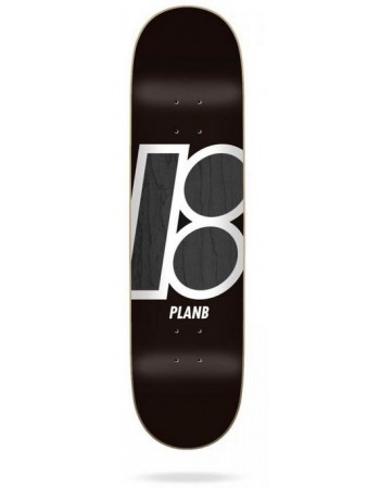 "Skateboard Plan B Team Stain 8,375"" (solo tabla)"
