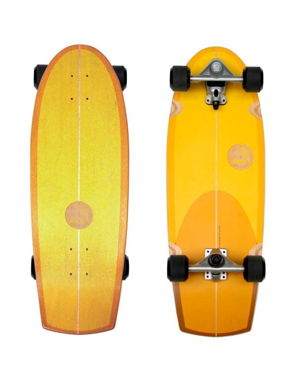 "Surfskate Sunset Quad 30"" (Completo)"