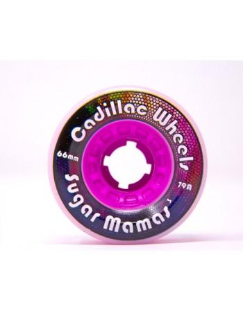 Ruedas Longboard Cadillac Sugar Mamas V3 66mm 79a (Set 4)