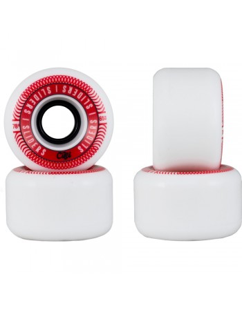 Cuei Sliders 65mm 78A White