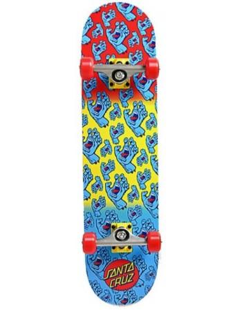 """Skateboard Santa Cruz Hands Allover 7,75"""" (Completo)"""