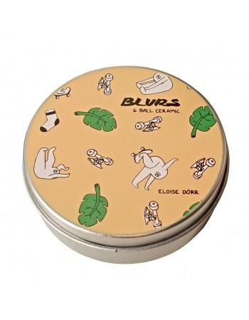 Rodamientos Blurs Bearings 6 Ceramicos