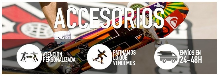Accesorios de skateboard