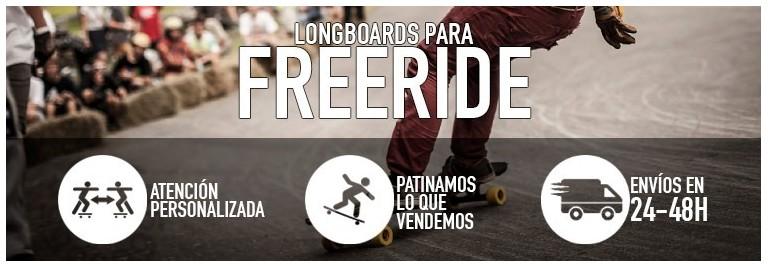 Longboards para freeride