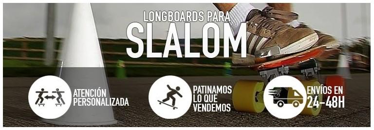 Longboards para slalom