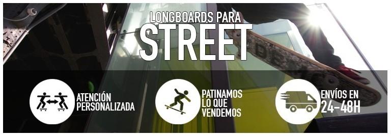 Longboards para street