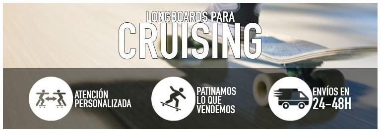 Tablas de longboard para cruising