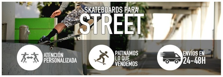 Tablas de skate para street/park