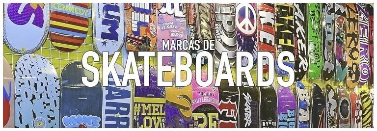 Marcas de tablas de skate