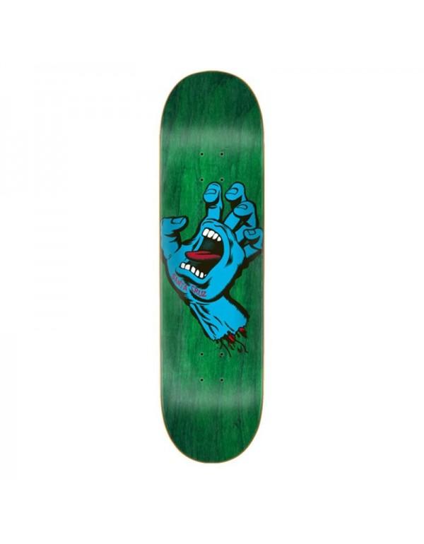 "Skateboard Santa Cruz Screaming Hand 8,8"" (Solo Tabla)"