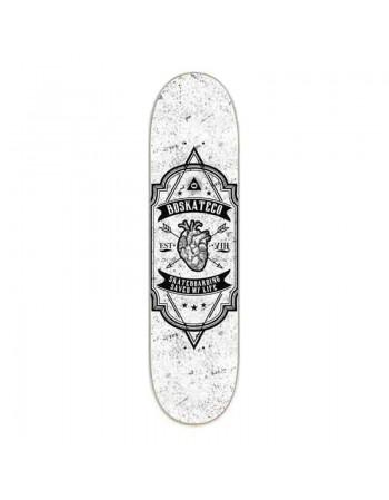 "Skate BDskateCO Heart White 7.75"" (Tabla sola)"