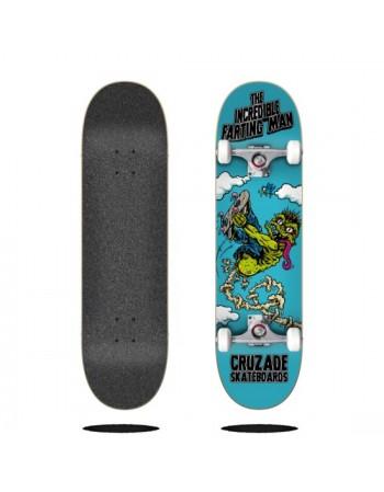 """Skateboard Cruzade The Incredible Farting Man 8,125"""" (Completo)"""