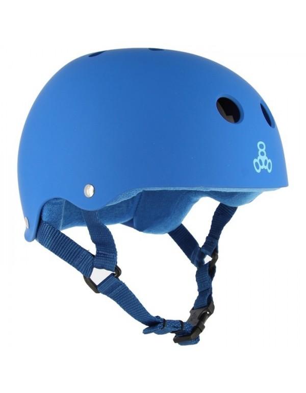 Casco Triple Eight Brainsaver Blue Fade Rubber