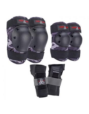 Triple 8 Saver Series Protective Pack Char Camo
