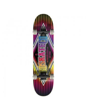 "Skate BDskateCO Diamond Multitone Black 7,75"" (completo)"