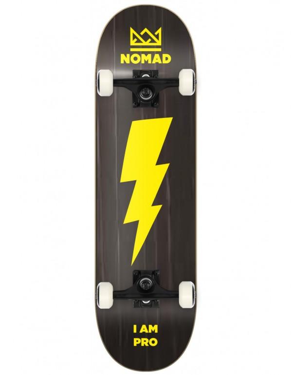 """Skateboard Nomad Thunder Black 7,75"""" (Completo)"""