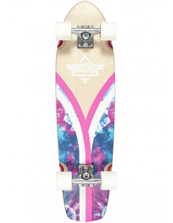 Longboard Dusters Flashback Checker Tie Dye Cru 31""