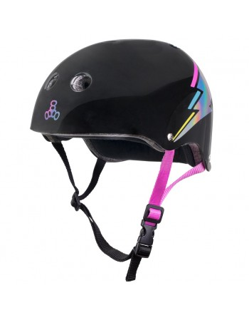Casco Triple Eight Brainsaver Sweatsaver Certified Hologram