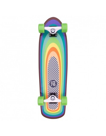Longboard Z Flex Cruiser Surf A Gogo Shorebreak (completo)