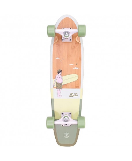 "Longboard Z Flex Bamboo 29"" (completo)"