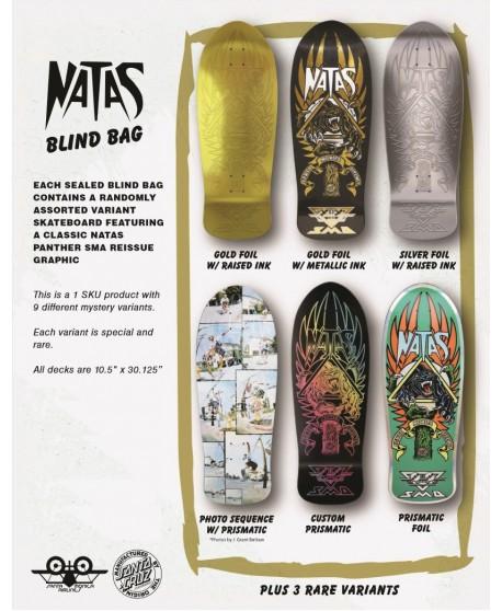"""Skateboard Natas Panther Blind Bag 'PANTHER' 10,58"""" (Solo Tabla)"""