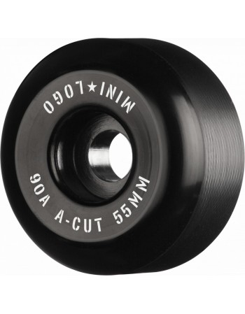 Ruedas Skateboard Mini Logo A-Cut 55mm 90a Hybrid Black (Set de 4)