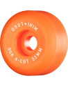 Ruedas Skateboard Mini Logo A-Cut 53mm 90a Hybrid Orange (Set de 4)
