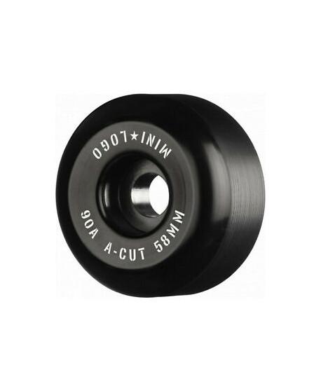 Ruedas Skateboard Mini Logo A-Cut 58mm 90a Hybrid Black