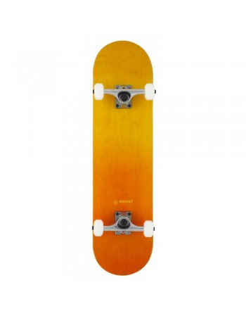 "Skateboard Rocket Doube Dipped Orange 8"" (Completo)"