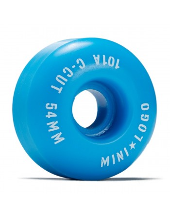 Ruedas Skateboard Mini Logo C-Cut 54mm 101a Blue (Set de 4)