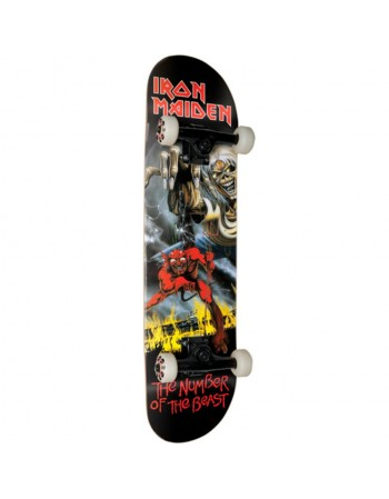 """Skateboard Zero Number of the beast 8"""" (Completo)"""