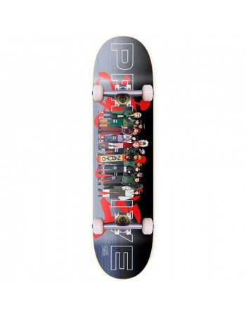 """Skateboard Primitive Team Leaf Village 8,125"""" (Completo)"""