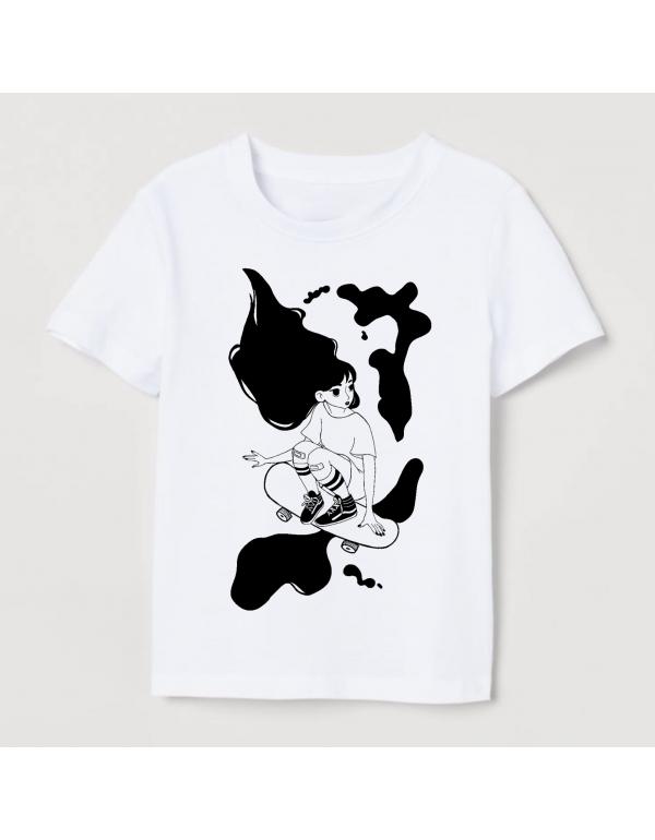 Camiseta Kaina Skate Girl 2021