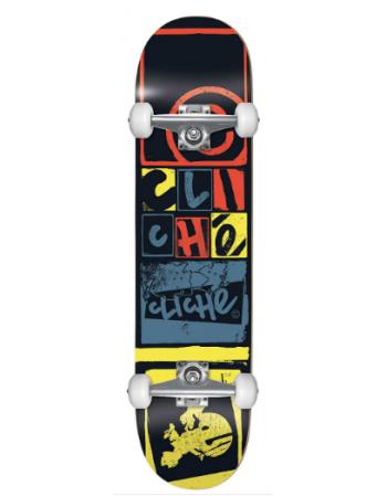 """Skateboard Cliché Letter Press 8"""" (Completo)"""