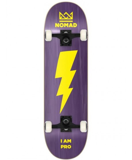 "Skateboard Nomad Thunder Purple 8"" (Completo)"