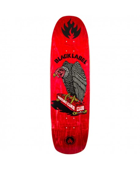 "Skateboard Black Label Vulture Curb 8,8"" (Solo Tabla)"