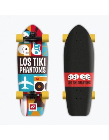 "Surfskate Hydroponic Los Tiki Phantoms Co. 31,7"" (Completo)"