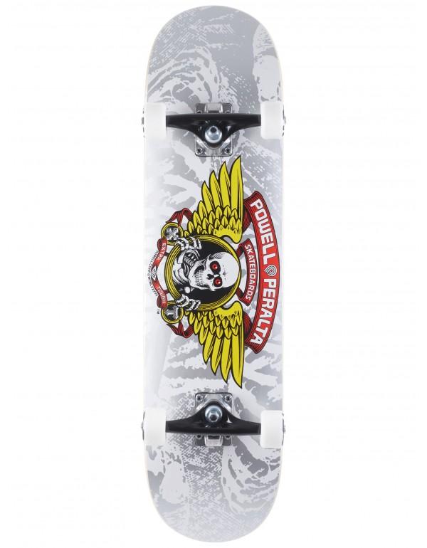 "Skateboard Powell Peralta Winged Ripper Silver 8"" (Completo)"