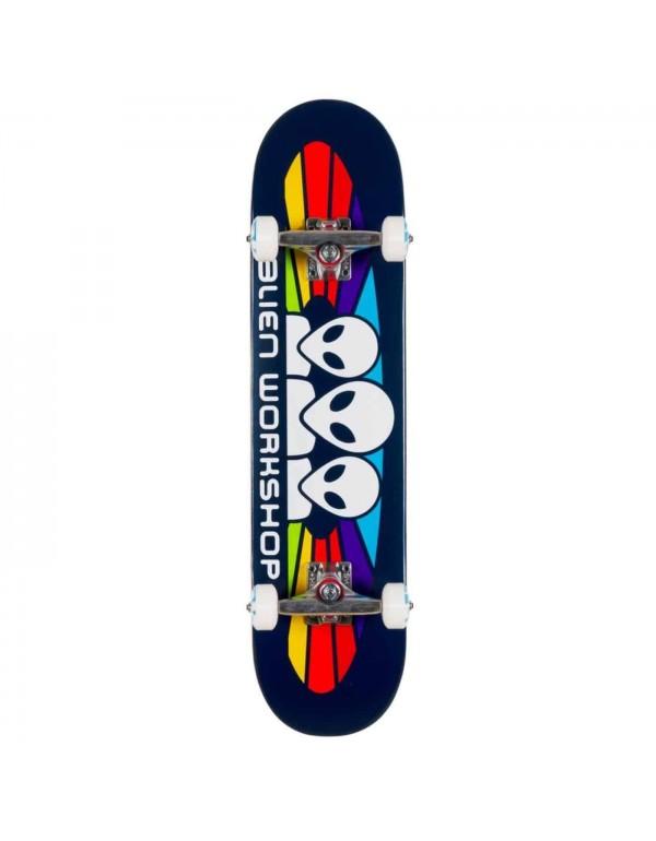 "Skateboard Alien Workshop Spectrum Navy 8"" (Completo)"